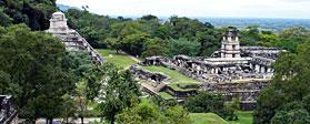 Tempio delle Iscrizioni e Gran Palazzo - Palenque, Messico
